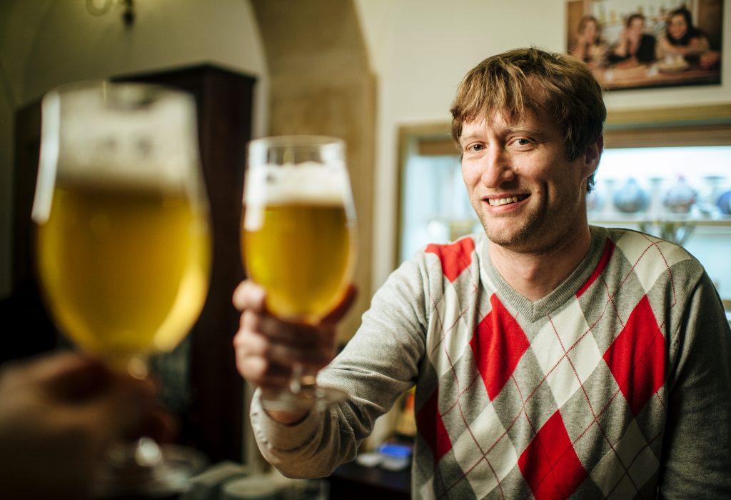 ...pivo od Clocka